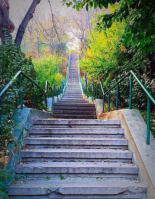 Stepenice na Kalvariji
